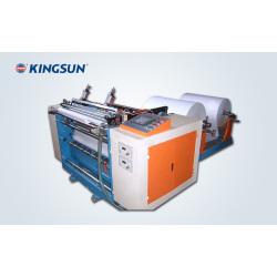 Machine de rebobinage et découpage pour papier de fax