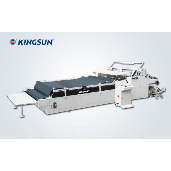 Machine de collage de papier semi-automatique série FM-E