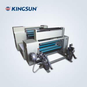 Carbon Ribbon Slitting Machine Model KFJ-1000