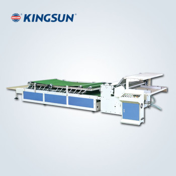 Manual Feed Flute Laminating Machine