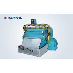 Machine de plissage et découpe à pression de platine série ML