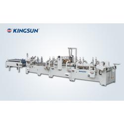 Machine à coller boîte à base collée pré-pliée