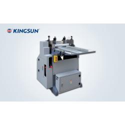 máquina semi-automática para cortar los lomos de cartón