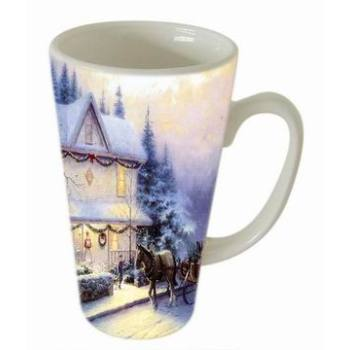 Christmas Color Ceramic Mug ( GL70CM-1)