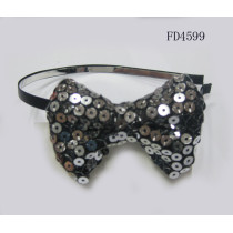sequins bow alice band