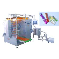 السائل التعبئة الختم أربع الجانب آلة