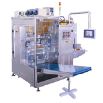 Liquide pompe péristaltique à quatre côtés d'étanchéité et machine d'emballage multi-lignes
