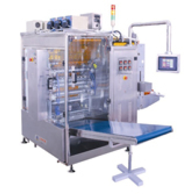 تحوي السائل مضخة أربعة الجانب الختم ومتعدد الخطوط ماكينة التغليف