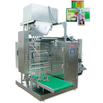 Multi-carriles en polvo de la máquina de embalaje