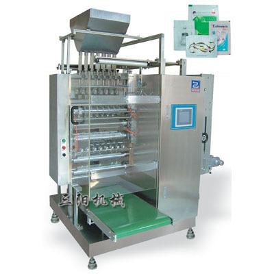 Четыре боковые уплотнения гранул упаковочная машина