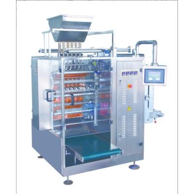 Granules de quatre-côté d'étanchéité et multi-ligne d'emballage machine DXDO-K900E