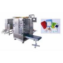 Кетчуп 4-х сторон уплотнение и многоканальный упаковочная машина