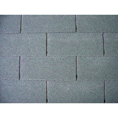 standard single-layer shingles