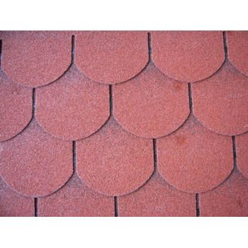 Scale single-layer shingles