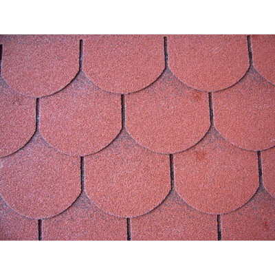 Scale single-layer shingles