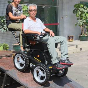 Double seat wheelchair