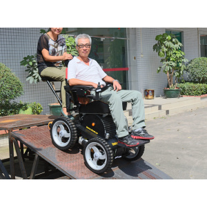 Double seat wheelchair