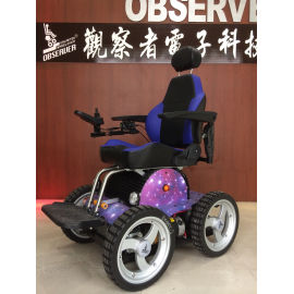 Unlimited Electric Wheelchair