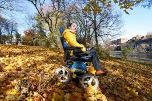 4x4 wheelchair OB-EW-001
