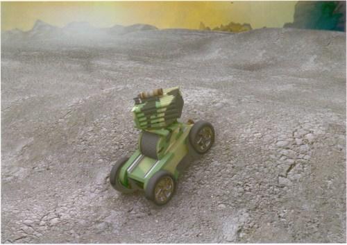 特种无障碍战斗车