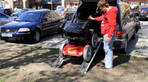 輪椅車演示