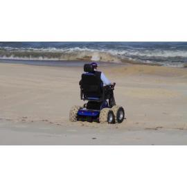 4WD wheelchair