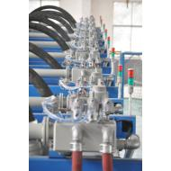 tubos en Fábrica Muestra de espuma