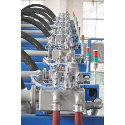 Трубы в образце завода пены