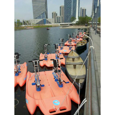Water bikes for park entertainment
