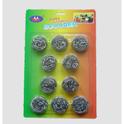 pot and pan scrubber / cleaning scourer ball
