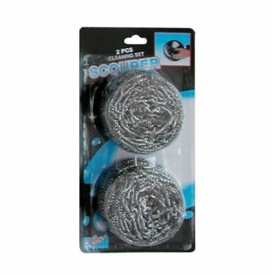 stainless steel cleaning ball set 2pcs
