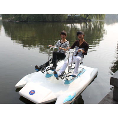 Water fishing boat/ pedal boat