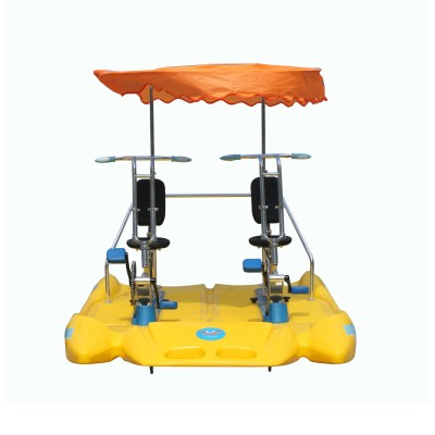 Pedal boats for lovers / water bikes