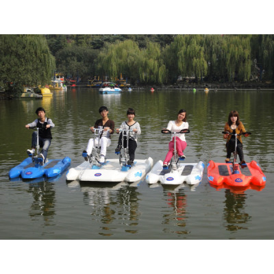 Water bike for 3 person / pedal boat for 3 people