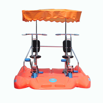 Pedal boats with awning / water boats for 2 person