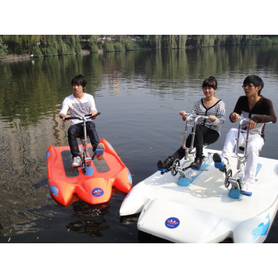 water bike for 2 person / pedal boat for rental