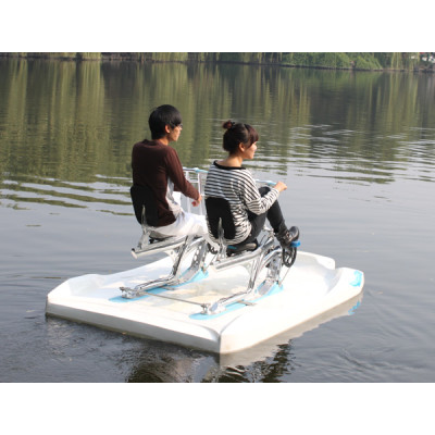 Water pedal boat water bikes