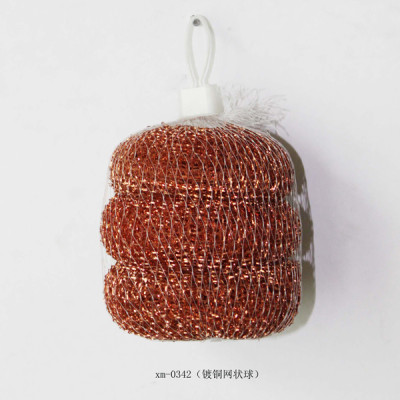 Copper mesh cleaning ball
