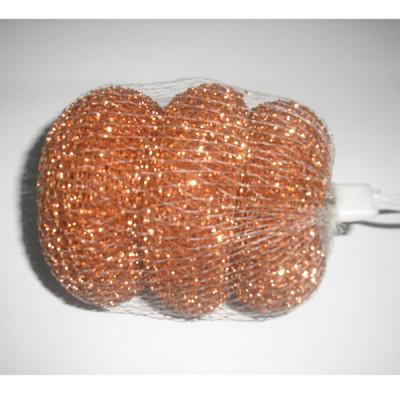 Copper mesh lint traps