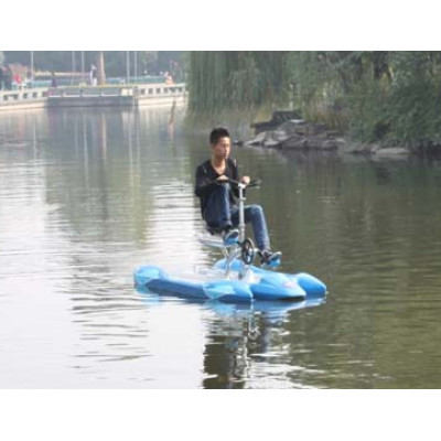 Water park equipment pedal boat