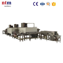 chocolate shell moulding line
