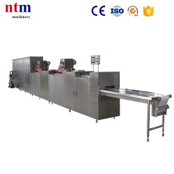 Two depositors chocolate depositing machine