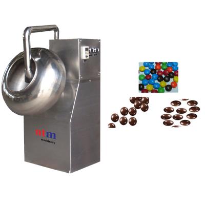 turbine d'enrobage au chocolat