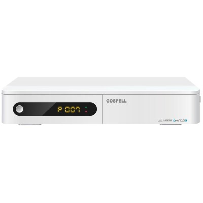 DVB-C  HD H.264/MPEG-4/MPEG-2 set top box