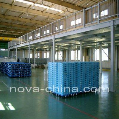 Steel Warehouse Platform