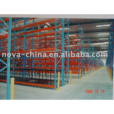 Durable warehouse pallet racking