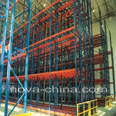 Pallet Rack with tunnel