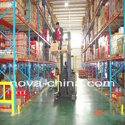 warehouse rack/shelving system