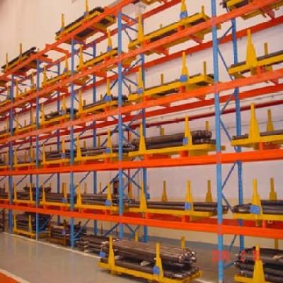 Warehouse shelve racks