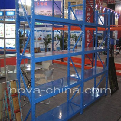 steel warehouse long span shelving